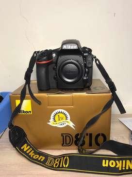 Nikon D810 Mint Condition