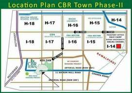 4 Marla Plot for Sale in CBR phase 2