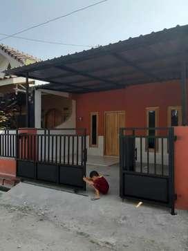 Jual rumah baru selesai di renovasi