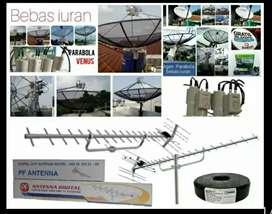 tukang pasang baru parabola dan antena TV digital