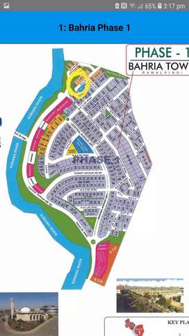 BAHRIA TOWN PHASE 1-posession map paid