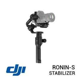 Dji Ronin-S 3-Axis Gimbal Stabilizer Promo Free 1x Cicilan