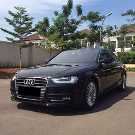 AUDI A4 1.8 TFSI HITAM 2014 LIKE NEW