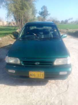 Kia classi 2001 colour green papers all clear we sel it if anyone want