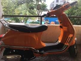 piaggio Vespa SXL model Orange colour