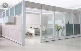 Skat ruangan bahan alumunium pas buat kantor pp33