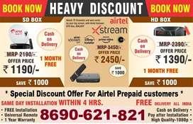 Best IPL Offer Airtel Dth Connection Best price SD/HD Airtel Xstream
