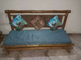 8 seater Cane Sofa with centre table for Rs 7900