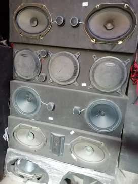 Car speakers mix brand available