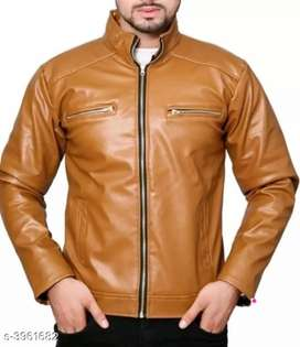 New leather jacket free home delivery