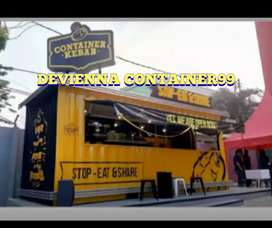 Container cafeshop.container usaha.booth semi container.custom booth.
