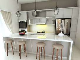 Desain Interior dan Kitchen Set