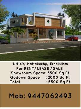 Commercial Building in NH 49 at Mattakuzhy  for sale