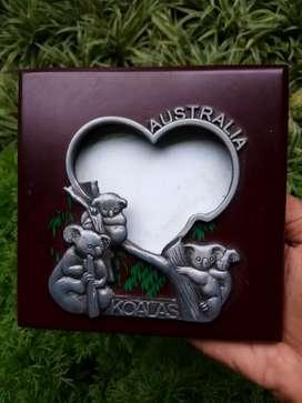 Frame foto ausi, koala