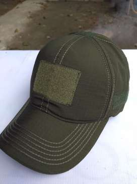 Topi Tactical Molay Green Army Militer Outdoor