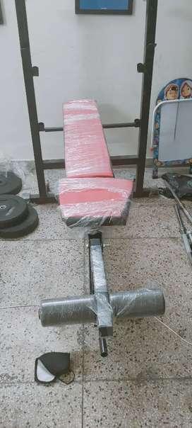 Bench press adjustable