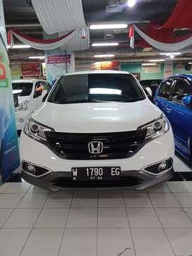 Honda CRV prestige 2014 putih matik metik promo kredit harga dp murah