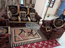 Luxury sofa 3+1+1 only sofa