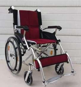 Kursi roda travelling allumunium ringan