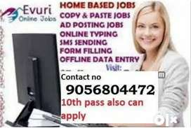 Best offer for everyone home based part time job