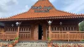 Rumah Joglo Kayu Jati Tumpangsari dan Gebyok Ukir