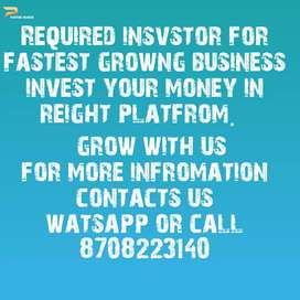 Required investor for tour n travel