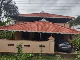 1200 Sqft House, 2 BHK, 8 Cents,53 Lakhs, Near Kolazhy Thrissur