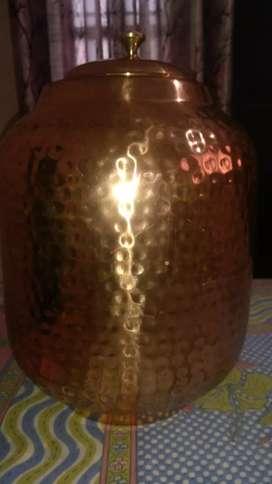 Pure copper pitcher