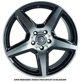 VELG AMW MERCEDES MERCY AUDI GLORY 560 VW GOLF R18X9.0 5X112 ET40
