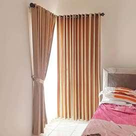 Gorden Korden Vitrase Gordyn Wallpaper Blind Curtain Free Survey..414