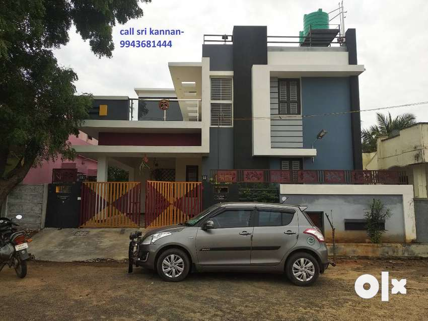 1year old 3-BHK North Facing house for sale in Iswarya nagar,vadavalli 0