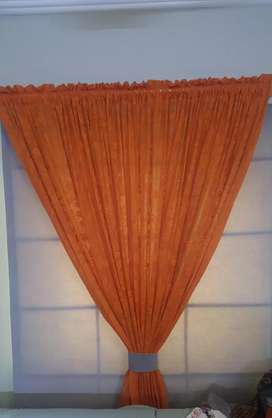 Chick curtain, original velvet and net almost new condition