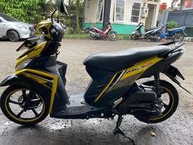 Yamaha Mio M3 125 Thn 2019 Kuning Mulus Pajak Panjang
