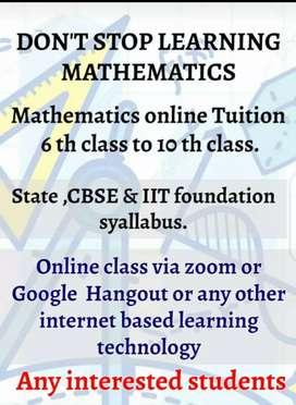 Teaching maths physics chemistry 6th class to 10 th class