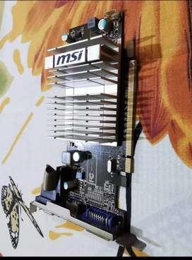 MSI Amd/Ati R5450 - 1 GB DDR 3 Graphics Card