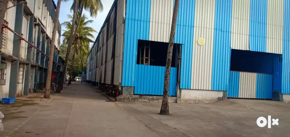 20000 sq.ft industrial shed available at sarigam gidc