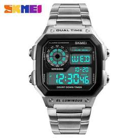 Skmei Original Men Sports Stainless Steel Waterproof Watch