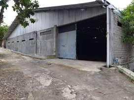 Gudang Full Bangunan LT/LB 1100 dekat pusat kota Wonosari