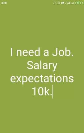 Hi, I need a job in Indore.