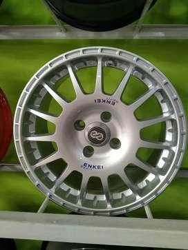 Velg murah Bekasi Enkei sport R15 mobil Brio Ayla Mirage march sigra