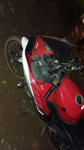 Yamaha R15 red colour