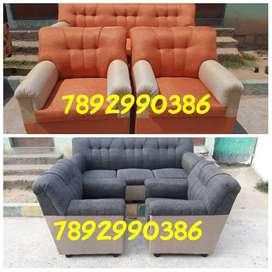 Branded fabric quality new sofa set with warranty