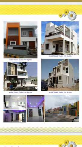 Low cost 21 lakhs Independent houses and 33 lakhs villas