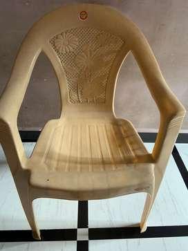 Plastic polytuff chair