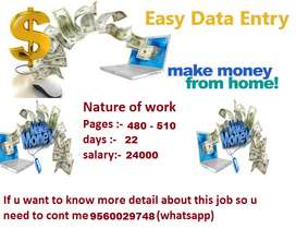 One of the best opportunity for part time job, need 220 candidates