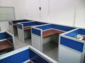 Cubicle Workstation Meja Partisi Bongkar Pasang