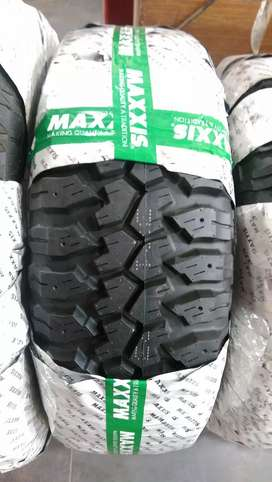 35 12.50 15 & 16 Maxxis Thailand Jeep 4X4 Tyre MT AT Mud All Terrain