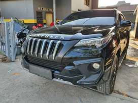 Grill Import Fortuner VRZ TRD Apollo Black Panther