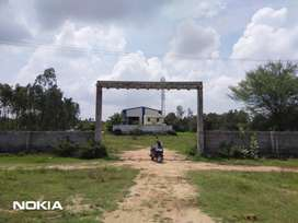 2.7 cent new villa for sale  at 2.5 kms from TVS company, hosur