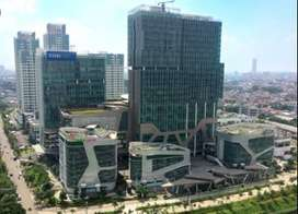 For Lease: Office 200m2  di  Kirana Three Office Tower, Kelapa Gading